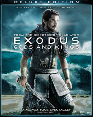 Exodus: Gods and Kings 3D Blu-ray