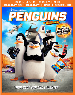Penguins of Madagascar 3D Blu-ray