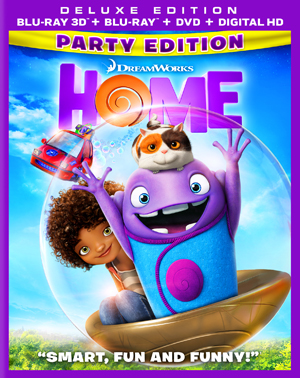 Home 3D Blu-ray
