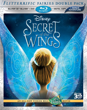 Secret of the Wings 3D Blu-ray