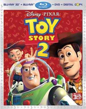 Toy Story 2 3D Blu-ray