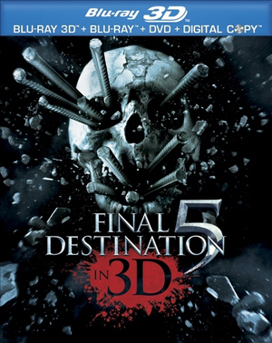 Final Destination 5 3D Blu-ray