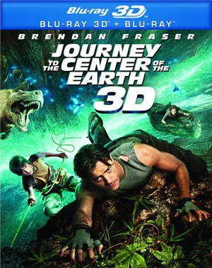 Journey to the Center of the Earth 3D Blu-ray