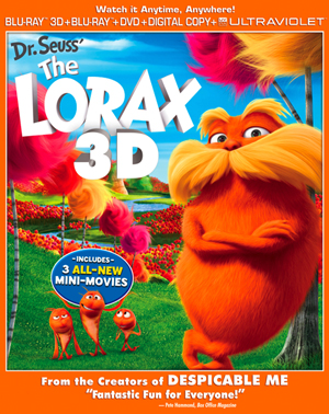 Dr. Seuss' The Lorax 3D Blu-ray