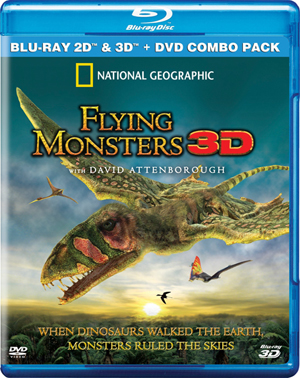 Flying Monsters 3D Blu-ray