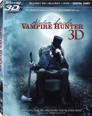 Abraham Lincoln: Vampire Hunter 3D Blu-ray