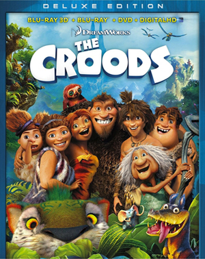 The Croods 3D Blu-ray