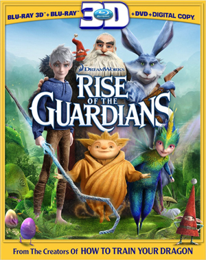 Rise of the Guardians 3D Blu-ray
