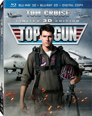 Top Gun 3D Blu-ray