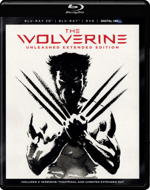 The Wolverine 3D Blu-ray