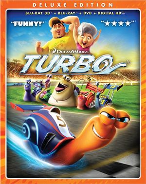 Turbo 3D Blu-ray
