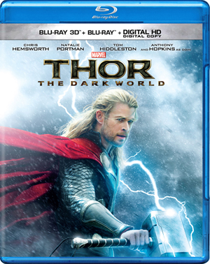 Thor: The Dark World 3D Blu-ray