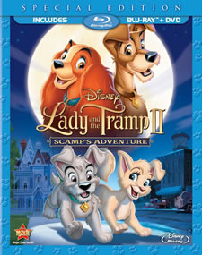Lady and the Tramp II: Scamp's Adventure Blu-ray