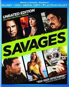 Savages Blu-ray