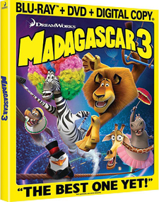Madagascar 3: Europe`s Most Wanted Blu-ray