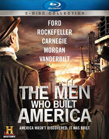 The Men Who Built America Blu-ray