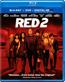 Red 2 Blu-ray