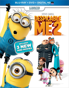 Despicable Me 2 Blu-ray