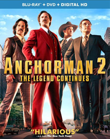 Anchorman 2: The Legend Continues Blu-ray